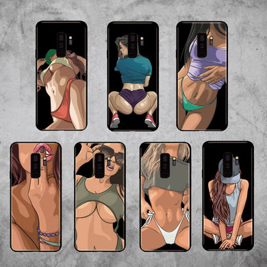 Hot Sexy Girl Soft Case For Samsung Phones - Trendzz Worldwide
