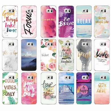 Positive Affirmations Case For Samsung Phones - Trendzz Worldwide