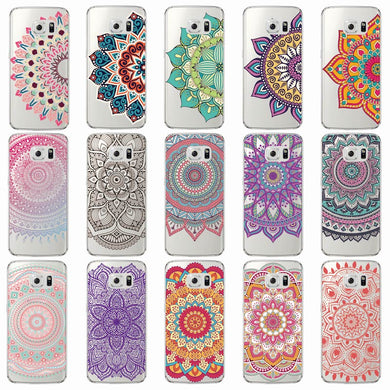 Vintage Henna Mandala Cases For Samsung Phones - Trendzz Worldwide