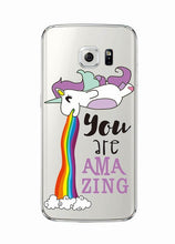 Load image into Gallery viewer, Cute Unicorn Cases For Samsung Phones - Trendzz Worldwide