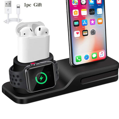 3 in 1 Charging Dock for IPhone, Apple Watch & Airpods - Trendzz Worldwide