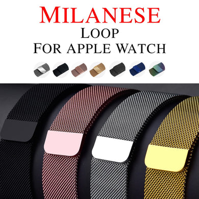 Luxury Milanese Stainless Steel Watchband - Trendzz Worldwide