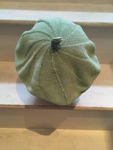 Load image into Gallery viewer, Mint Green Cotton French Style Beret