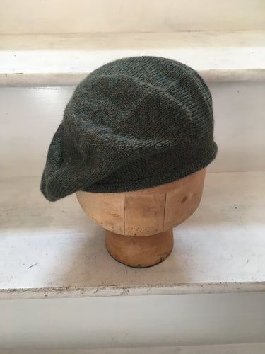 Dark Green Alpaca Scottish Style Tam