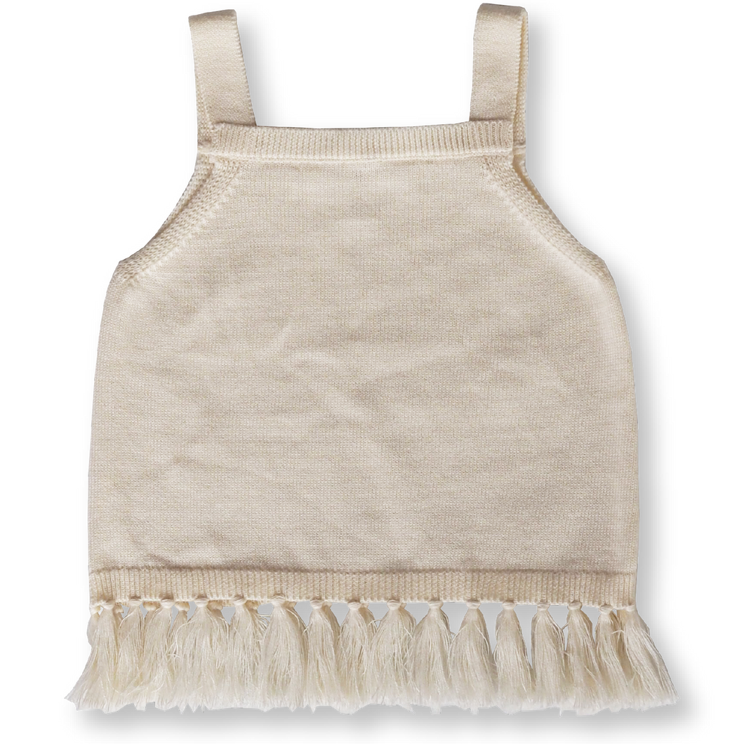 Fringe Top - Milk