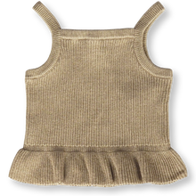 Load image into Gallery viewer, Ribbed Frill Top - Goldie