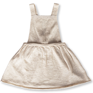 Slub Linen Dress - Oat