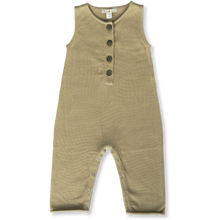 Load image into Gallery viewer, Button Up Playsuit - Olive