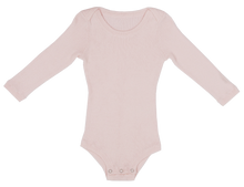 Load image into Gallery viewer, Ribbed Bodysuit - Blush