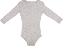 Load image into Gallery viewer, Ribbed Bodysuit - Grey Marle