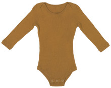 Load image into Gallery viewer, Ribbed Bodysuit - Harvest Gold