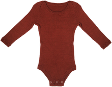 Load image into Gallery viewer, Ribbed Bodysuit - Ketchup