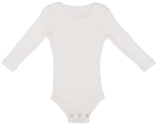Load image into Gallery viewer, Ribbed Bodysuit - Snow