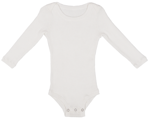 Ribbed Bodysuit - Snow