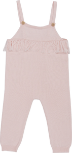 Frill Playsuit - Blush
