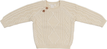 Load image into Gallery viewer, Cable Knit Pull Over - Milk