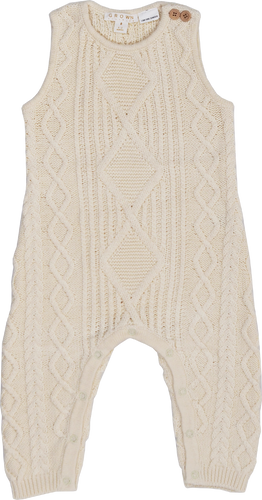 Cable Knit One-Piece - Milk