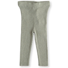 Load image into Gallery viewer, Ribbed Essential Leggings - Seagrass