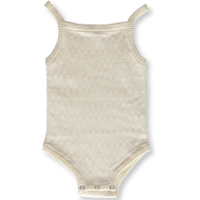Load image into Gallery viewer, Pointelle Bodysuit - Milk