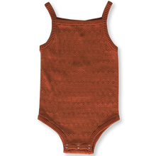 Load image into Gallery viewer, Pointelle Bodysuit - Rust