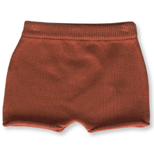 Load image into Gallery viewer, Relaxed Knitted Short - Rust