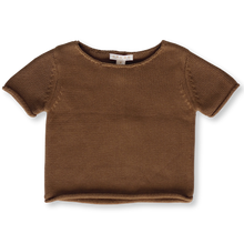 Load image into Gallery viewer, Relaxed Knitted Tee - Earth