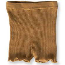 Load image into Gallery viewer, Ribbed Bike Shorts - Harvest Gold