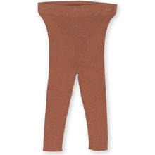 Load image into Gallery viewer, Ribbed Essential Legging - Terracotta Rose