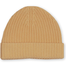 Load image into Gallery viewer, Ribbed Essential Beanie - Dijon