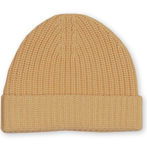 Ribbed Essential Beanie - Dijon