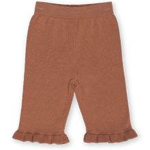 Load image into Gallery viewer, Frill Pant - Terracotta Rose