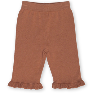 Frill Pant - Terracotta Rose