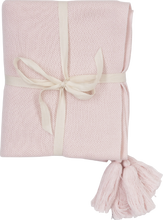 Load image into Gallery viewer, Tassel Baby Blanket - Blush