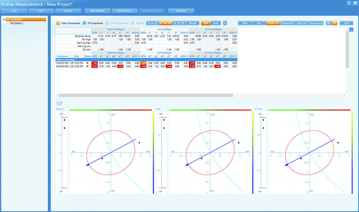Software Smart Lab Color - Spectro2Guide