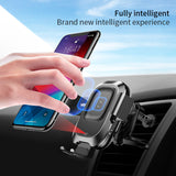 Baseus 10W Wireless Charger Car Phone Holder For iPhone XR Samsung LG Google HUAWEI Car Holder Smart Sensor Car Wireless Charger Holder - Hot Phone Tech