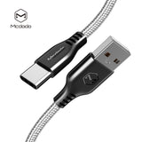 Mcdodo Warrior Series Type-C 3.1 USB-C Fast QC3.0 Charging Quick Charger Data Sync Cable Cord For Google Samsung LG HUAWEI All Android Device - Hot Phone Tech