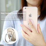 Baseus Hand Spinner Finger Ring Holder Metal Fidget Finger Spinner Mobile Phone Holder Stand For iPhone LG HTC Google HUAWEI Samsung Phone Ring - Hot Phone Tech