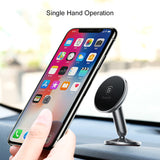 Baseus Magnetic Car Holder For iPhone Samsung LG HUAWEI Google Sony Phone Universal Holder Mobile Cell Phone Holder Stand For GPS Car Phone Holder - Hot Phone Tech