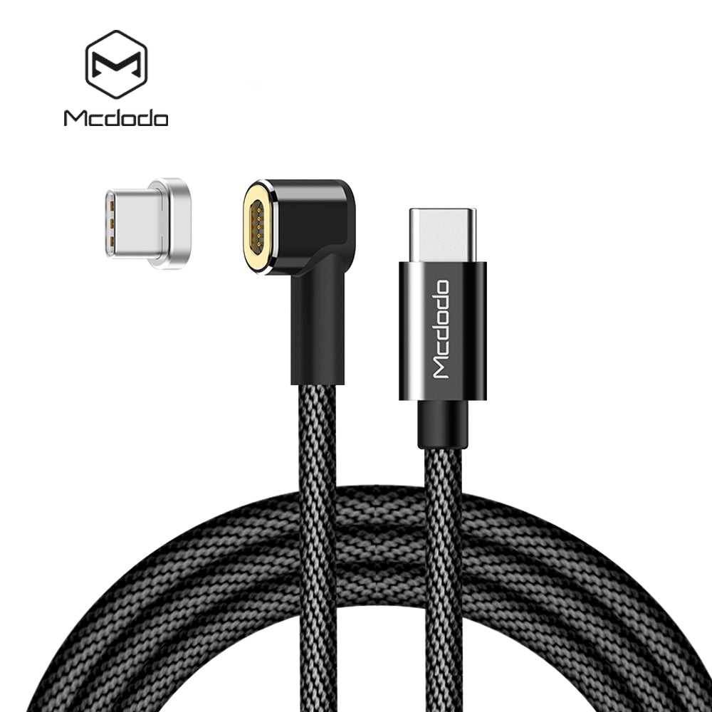 Mcdodo Magnetic Attraction 4.5A 60W USB Type C To Type C Cable for MacBook Samsung LG HTC Google HUAWEI PD QC4.0 3A Quick Charge for Type-C Devices - Hot Phone Tech