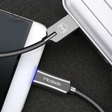 Mcdodo Knight Series Smart Power Auto-disconnect Type-C 3.1 USB-C Fast QC3.0 Charging Quick Charger Data Sync Cable Cord For Samsung HTC LG HUAWEI Google Android - Hot Phone Tech