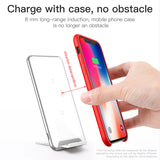 Baseus 10W 3 Coils Wireless Charger For iPhone X/XS Max XR Samsung LG Google HUAWEI HTC Multifunction Qi Wireless Charging pad - Hot Phone Tech