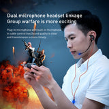 Baseus In-Ear Earphone 3.5mm Wired Headset for PUBG Gamer Gaming Headphones Hi-Fi Earbuds With Dual Microphone Detachable - Hot Phone Tech