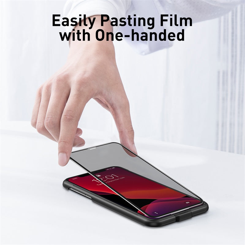 Baseus 0.23mm Privacy Screen Protector For iPhone Xi Xi Max 11 Protective Glass Tempered Glass For iPhone Glass 2 Piece And Tool - Hot Phone Tech