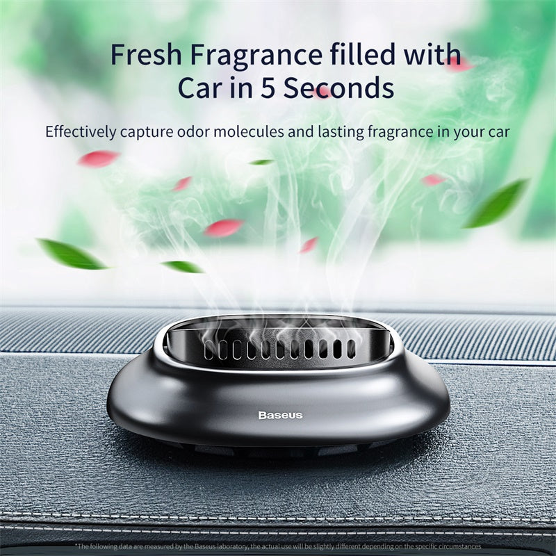Baseus Mini Alloy Car Air Freshener Natural Perfume Fragrance Holder Air Outlet Aromatherapy Solid Perfume Diffuser - Hot Phone Tech