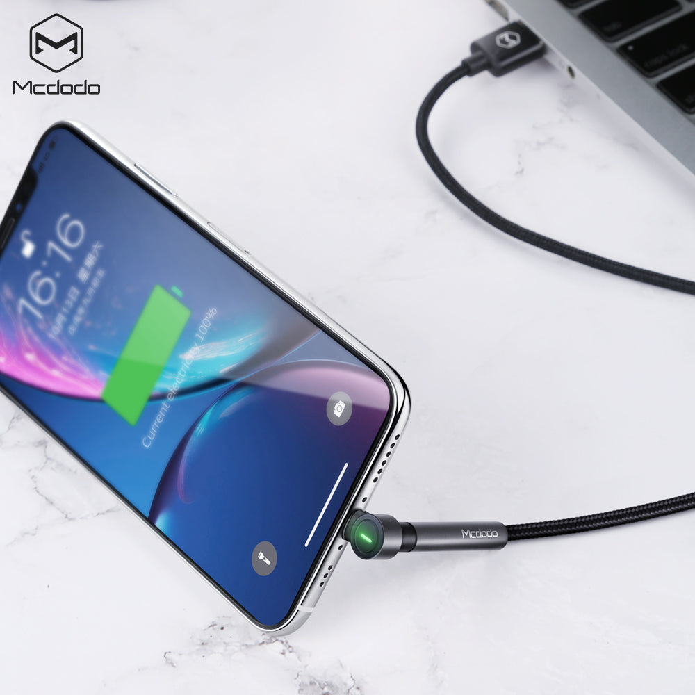Mcdodo Stand Fast USB Cable For iPhone X XS MAX XR 8 7 6s Plus 5 Charging Cable Mobile Phone Charger Cord Usb Data Cable - Hot Phone Tech