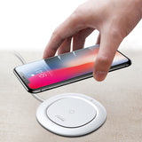 Baseus Qi Wireless Charger Fast Wireless Charging Desktop Pad For iPhone Samsung Galaxy LG HUAWEI Google - Hot Phone Tech
