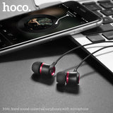 HOCO M46 Earphones 3.5mm Wired Control Earbuds Headset With Microphone For iPhone Samsung Google Sony LG HUAWEI Android Phones High Quality Earphones New - Hot Phone Tech