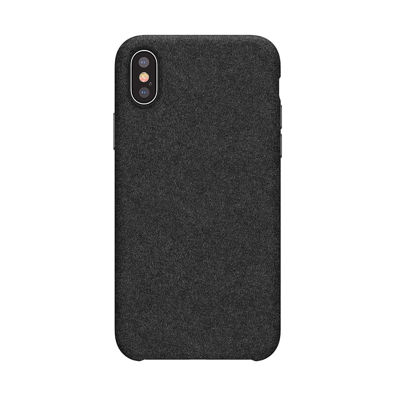 Baseus Luxury Phone Case For iPhone X/XS XS MAX Extreme Touch Smooth Fiber Phone Case  Back Cover Coque - Hot Phone Tech