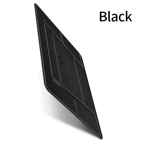 USAMS Folding Laptop Holder Portable Leather Laptop Stand for Apple MacBook Mac Book Lenovo Samsung Computer Tablet Stand Holder - Hot Phone Tech