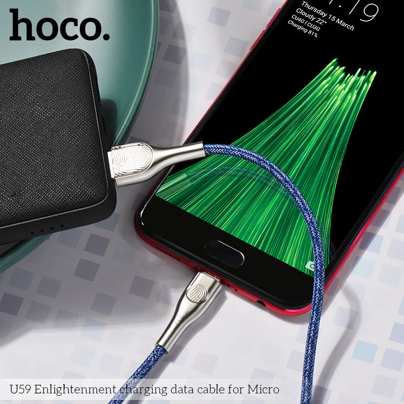 HOCO U59 USB To Micro USB Cable Charge Fast Charging Cable SYNC Cord For Samsung HUAWEI LG Google All Android Device - Hot Phone Tech